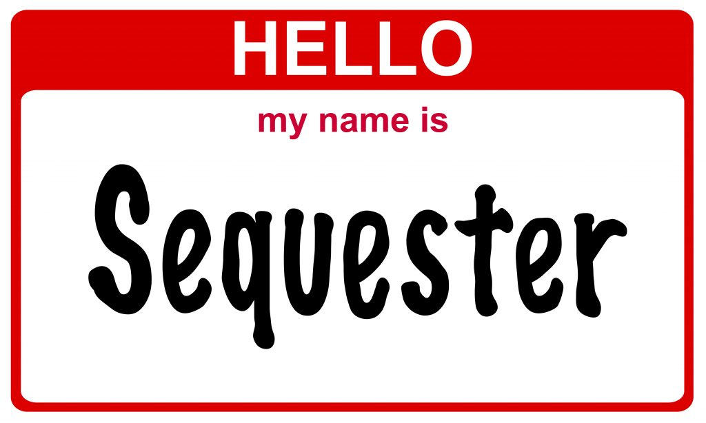 Sequester (name tag)